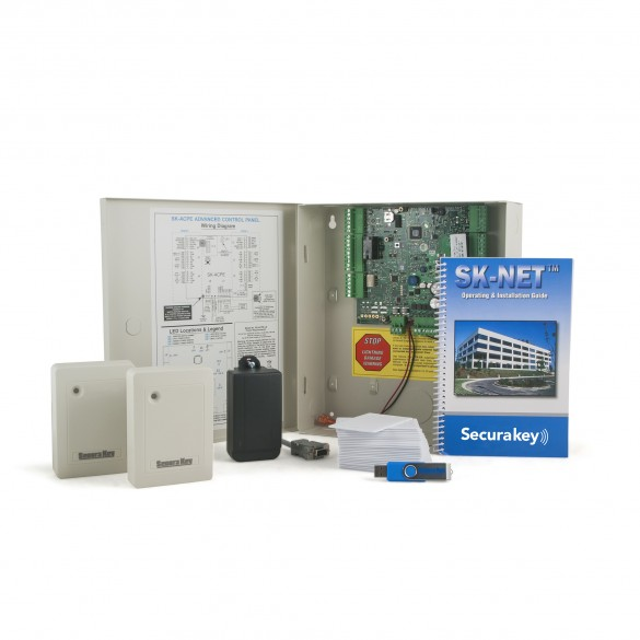 SecuraKey e-ACCESS 2 Access Control System Kit