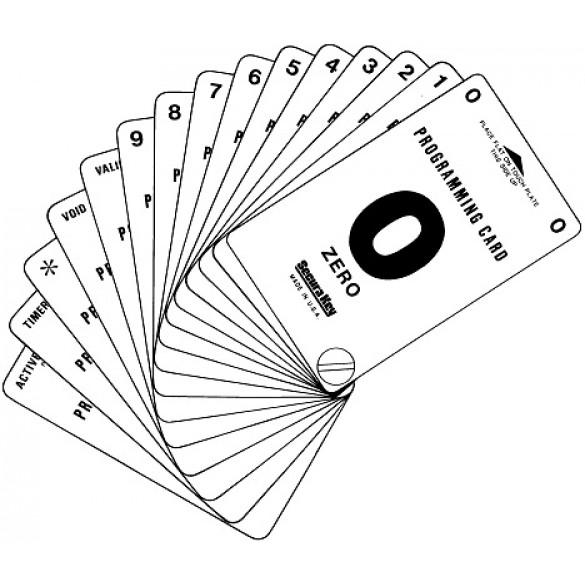 Secura Key PDC-100 Programming Deck w/ 100 Cards