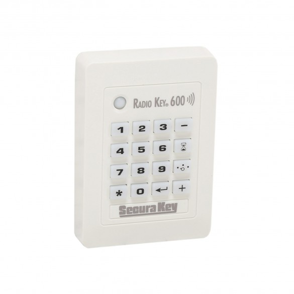 Secura Key RK600 Standalone Proximity Card Reader & Keypad w/ Auto Tuning for Superior Read Range