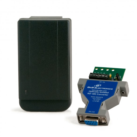 Secura Key NETCONVP DB-9 Female RS-232 to RS-422/-485 Converter w/ Power Supply