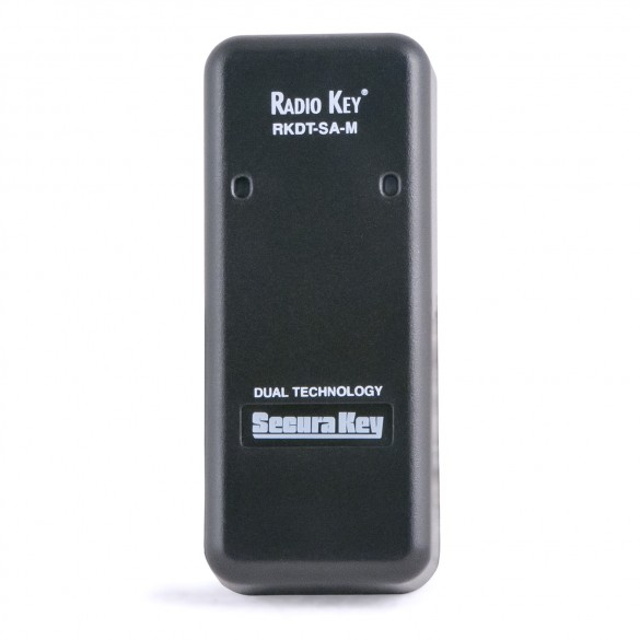 Secura Key RKDT-SA-M Radio Key Dual Technology Proximity Reader (Mullion) Reads Securakey or HID® formatted proximity cards