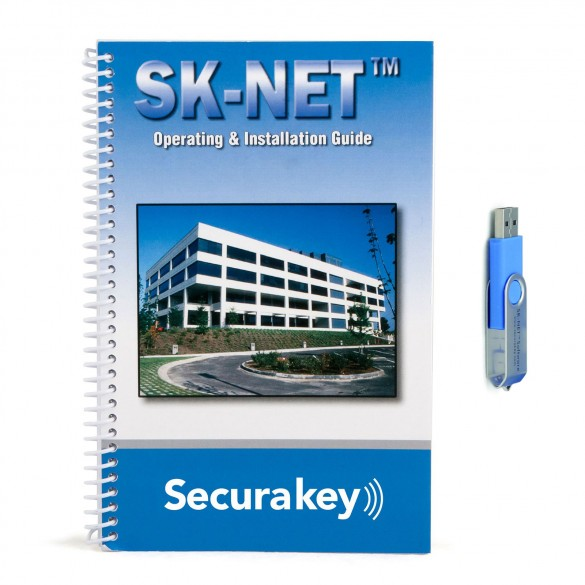 Secura Key SKNETDM Basic Software (USB Flash Drive and Manual)