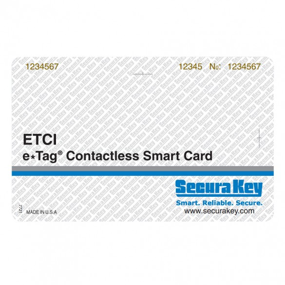 Securakey ETCI04-PK25 ISO Cards, Encrypted Wiegand Data