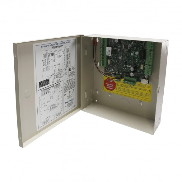 Secura Key SK-ACPE-LE Advanced 2-Door Control Panel w/ Ethernet, Board and Connectors (Large Enclosure)