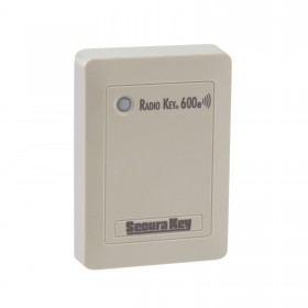 Secura Key RK600e Standalone Radio Key Proximity Card Reader w/ Auto Tuning for Superior Read Range