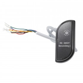 Securakey RK65K-DT Dual-Technology Standalone S-Shape Mullion Proximity Reader For SecuraKey And HID® Proximity Cards