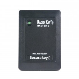 Secura Key RKDT-SR-S Dual Technology Proximity Reader (Switchplate) Reads Securakey or HID® formatted cards