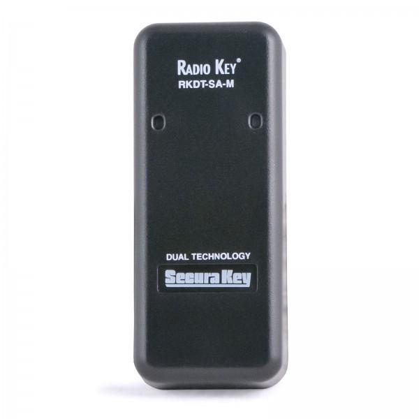 Secura Key RKDT-SA-M Radio Key Dual Technology Proximity Reader (Mullion) Reads Securakey or HID® formatted proximity cards