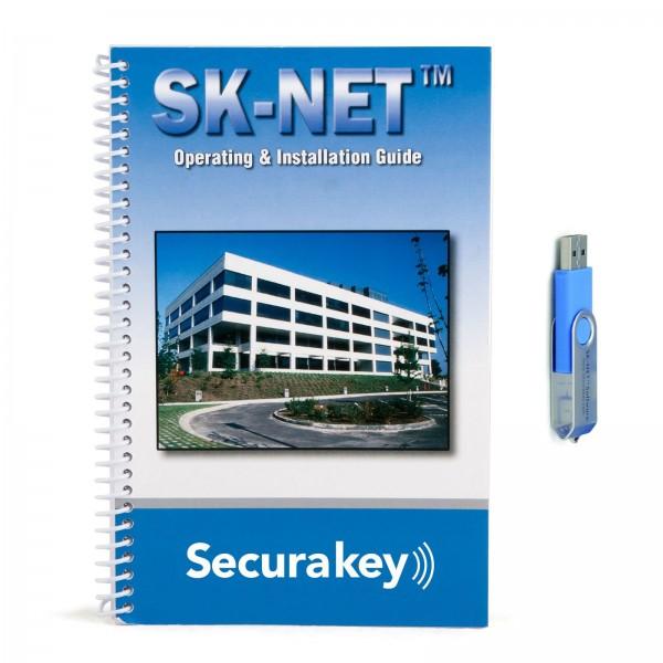 Secura Key SK-NET-MLD-CS10 SK-NET Multi-Location Client/Server License for 10 Users