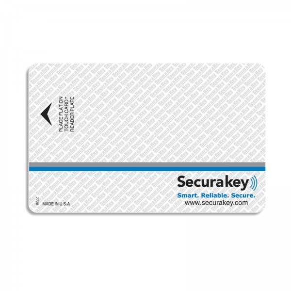 Secura Key SKC-03 Barium Ferrite Card for Insert Readers w/ Facility Code