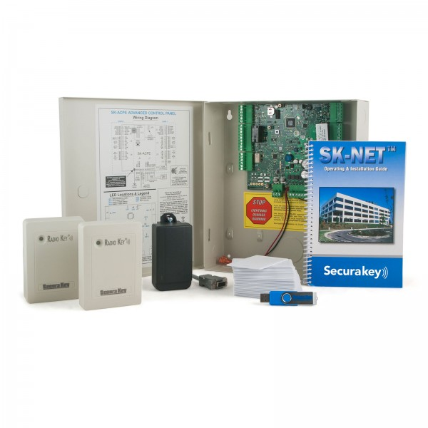 Secura Key SYSKIT2 Access Control Kit, 2 Switchplate Readers, Includes Molded Cards