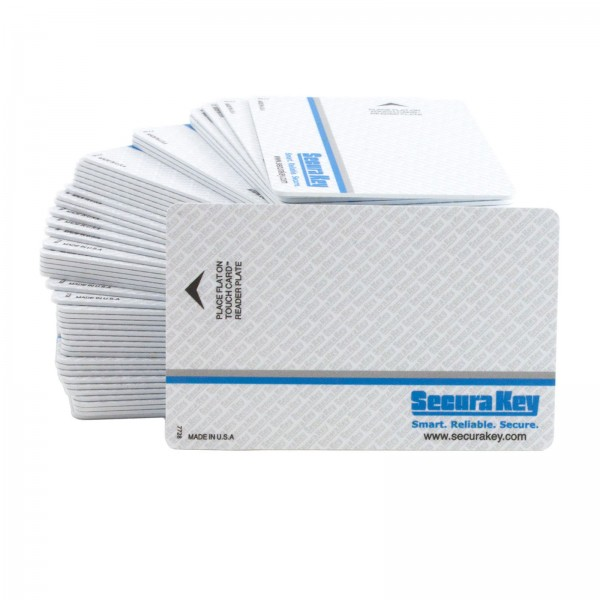 Secura Key SKC-06 Barium Ferrite Card, Sequential Numbering with Facility Code